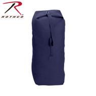 Heavyweight Top Load Canvas Duffle Bag - Navy
