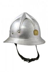 1950'S Serbian Fireman's Helmet - Used