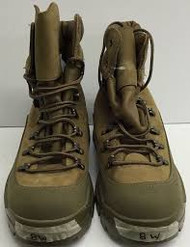 US Military Issue Temperate Mountain Combat Boots - Tan - New