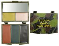 5-Colour Woodland/Grey Bark Camo Compact