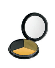 U.S. Military Issue Round 3 Color Camo Face Paint Compact - NEW