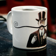 Bucardo Moustache Mug - Turn of the Century