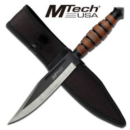 MTech 2019C Leather Stacked Bowie