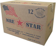 MRE Star w/ Flameless Ration Heaters - Case/12