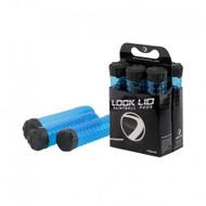 Dye Pod Lock Lid Cyan - 6pk