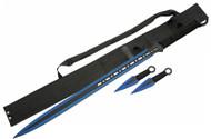 Ninja Sword Set - Blue
