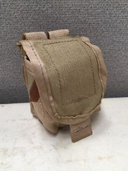 U.S. Military Issue MOLLE Hand Grenade Pouch Desert Camo - Used