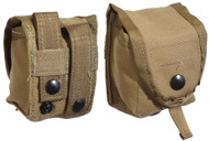 U.S. Military Issue MOLLE Hand Grenade Pouch Coyote - New
