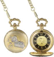 Phonograph Pocketwatch