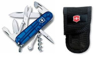 Swiss Army Climber with Nylon Pouch - Sapphire