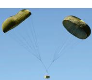 100' Camouflage Cargo Parachute - Used
