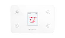 The iDevices Thermostat, a HomeKit enabled thermostat allowing you to control, monitor and schedule the temperature of your home from wherever you are.