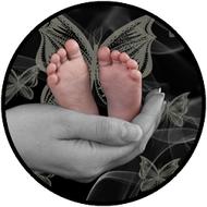 Baby Feet In Hands BR