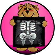 X Ray Bear Pink BR