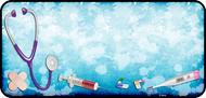 Medical Blue Splatter