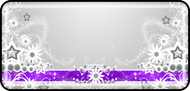 Daisy Ribbon Purple