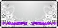 Daisy Ribbon Purple