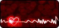 Glowing Heartbeat