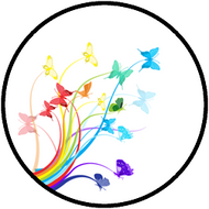 Rainbow Flight White BR