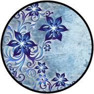 Star Flowers Blue BR