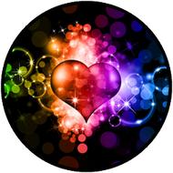 Rainbow Heart BR