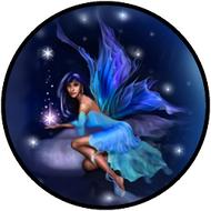 Neon Fairy Blue Dk BR