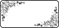 Black Scrolls on White