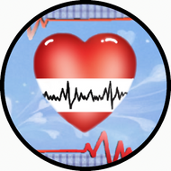 EKG Heart BR