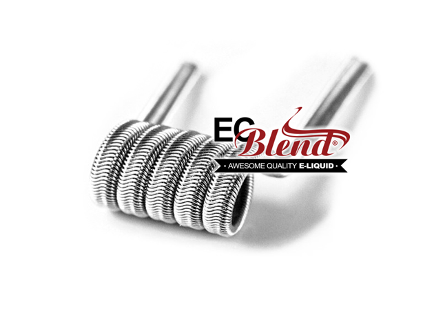 Prewrapped Alien Coils at ECBlend Flavors