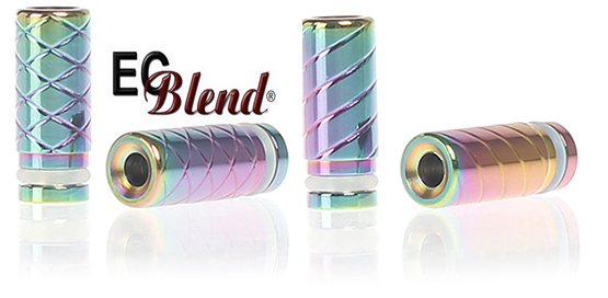 Drip Tip Rainbow Tube at ECBlend Flavors