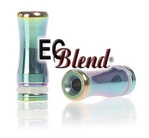 Drip Tip - ECBlend - 510/901/808 - SS - Rainbow - Standard