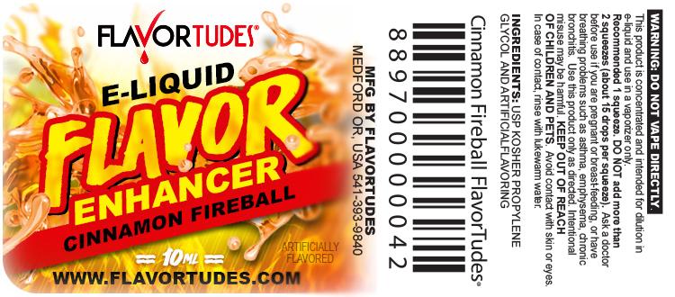 FlavorTudes® - Flavor Shots! - Cinnamon Fireball