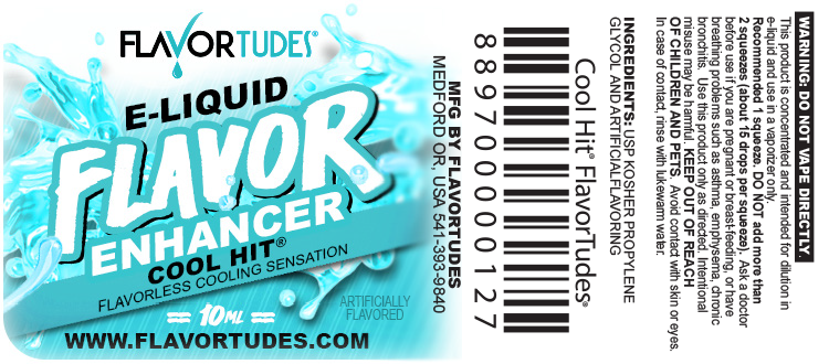 FlavorTudes® - Flavor Shots! - Cool Hit®