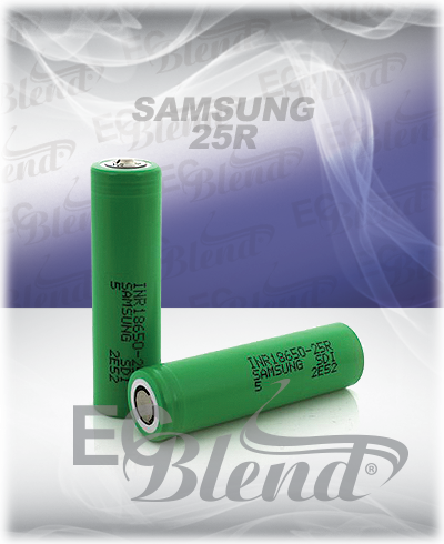 Authentic Samsung 25R at ECBlend Flavors