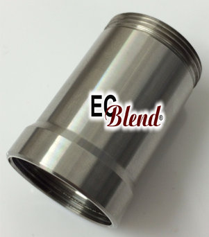 Cool Fire 1 - 18650 Extension Tube - Stainless Steel  at ECBlend Flavors