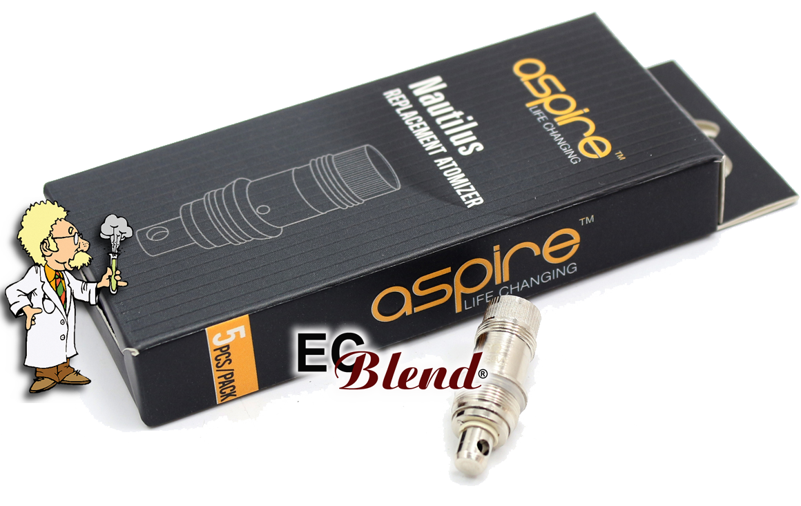 Clearomizer Replacement Head - Aspire Nautilus at ECBlend
