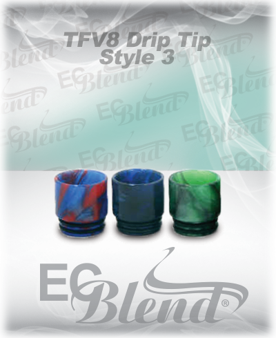 TFV8 Epoxy Resin Drip Tip Style 3