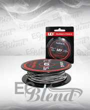15 ft Spool of prewound Fused Clapton Wire at ECBlend Flavors