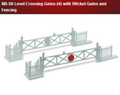Peco Lineside Kit - Level Crossing Gates