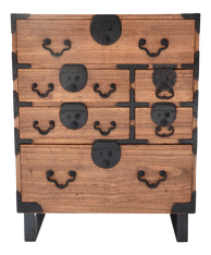 19th Century Japanese Tansu With Hand Forged Hardware
