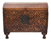 18th Century Spanish Colonial Coffer