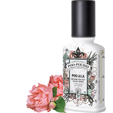 POO~POURRI™ Poo La La Before-You-Go® Toliet Spray 2OZ. Bottle ~ 100 Uses.