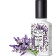 Spritz the bowl before-you go and no one else will ever know!  Home sweet throne! Poo~Pourri Lavender Vanilla is a comforting blend of lavender, vanilla and citrus natural essential oils.  Behold… the magic of a Jester with the power of a King. Poo~Pourri eliminates bathroom odor before it begins by creating a barrier on the surface of the water—so you can leave the porcelain throne smelling better than you found it.