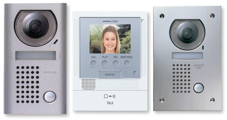 front door intercomAiphone JF2MED Front Door Video Intercom  Kit  AV Australia Online