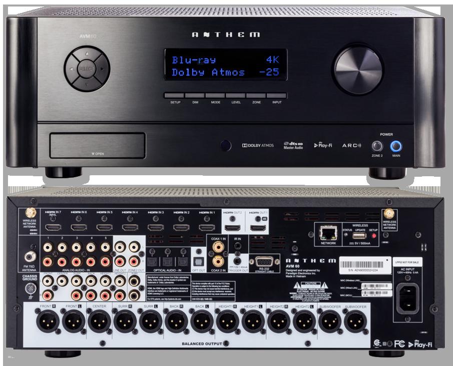 Power Amplifier For Dolby Atmos : anthem avm60 11 2 channel dolby atmos dts x av pre amplifier processor av australia online ~ Russianpoet.info Haus und Dekorationen