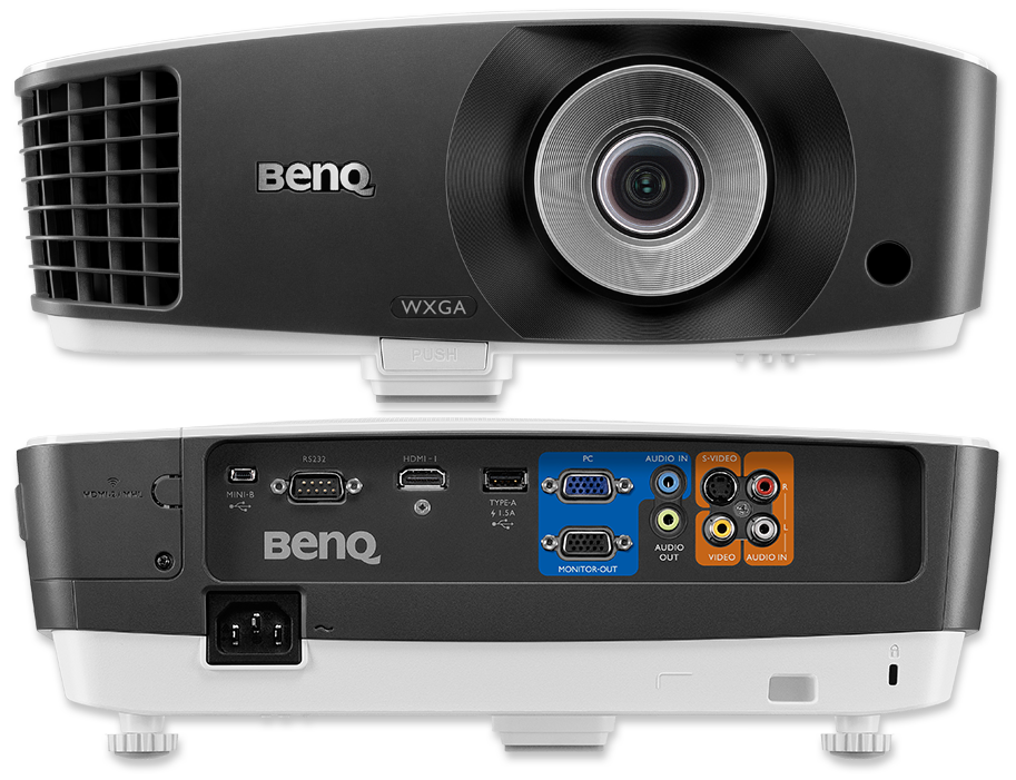 BenQ MX705 WXGA 4000 Lumen High Brightness DLP Projector