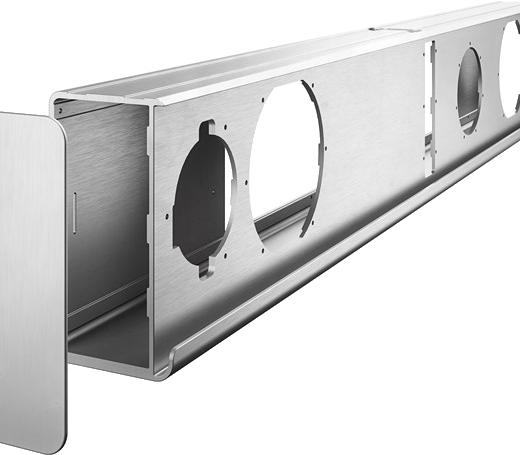 Dali Kubik One aluminium cabinet