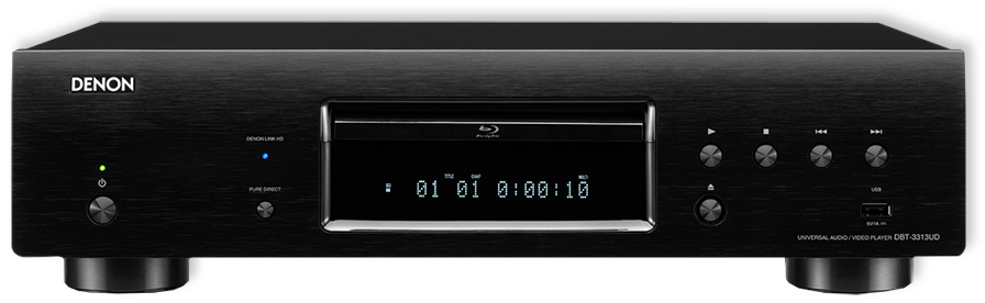 Denon DBT-3313UD 3D Blu-Ray & Media Streaming Player - front