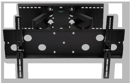 digitek extendable twin arm lcd plasma tv wall mount bracket suits 32 60 av australia. Black Bedroom Furniture Sets. Home Design Ideas