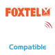 Compatible with Foxtel iQ2 IR Remotes